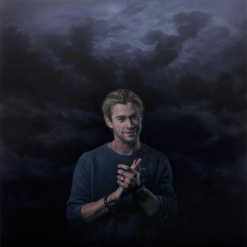 Title: Chris Hemsworth, Artist: Joel Rea, Subject: Chris Hemsworth