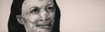 Title: Never, never, never give up, Artist: Brad Durrant, Subject: Turia Pitt
