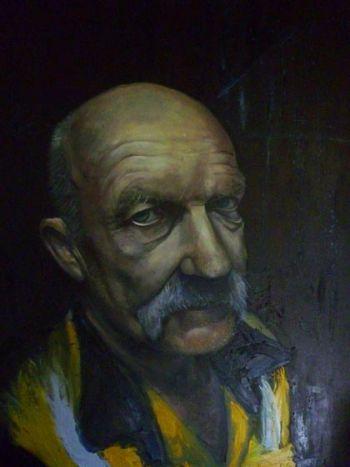 Title: Len, Artist: Jeremy Goodchild, Subject: Len Zuks