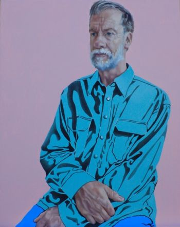 Title: Retirement. Artist: Leanne Emmitt. Subject: Ken Grinter.