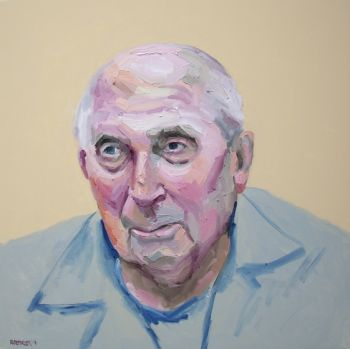 Title: Portrait of Paul Steiner. Artist: Robert Kremnizer. Subject: Paul Steiner.