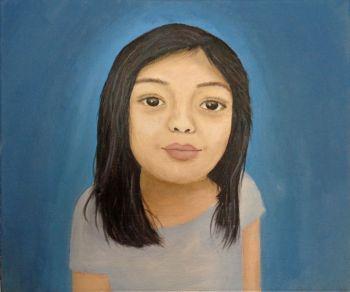 Artist: Eva Bantiles, Subject: Bea Bantiles, Title: Bea, Year 10