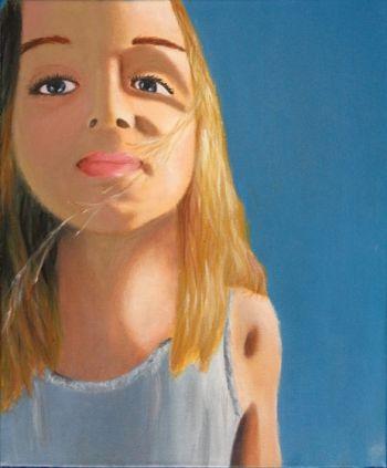 Artist: Talitha Moran, Subject: Jada Moran, Title: Jada, Year 10