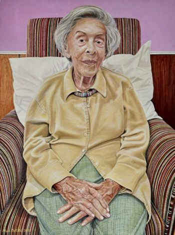 Artist: Filippa Buttitta, Subject: Judy Cassab AO CBE, Title: Portrait of an artist