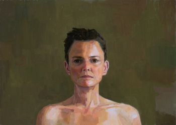 Artist: Jenny Rodgerson, Subject: Self portrait, Title: Self portrait No.9