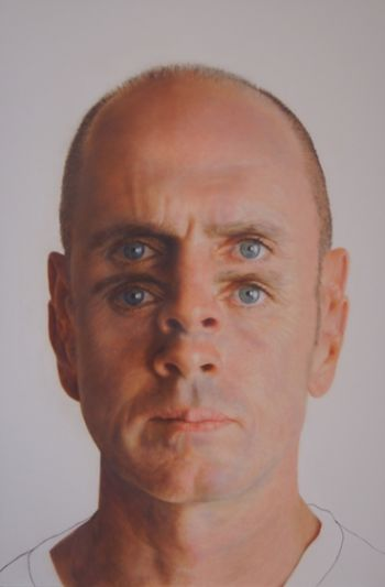 Artist: Todd Simpson, Subject: Self portrait, Title: What you see is not what you get
