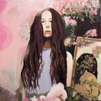 Artist: Nia Murray   Subject: Grace Mallrat  Title: Grace Mallrat