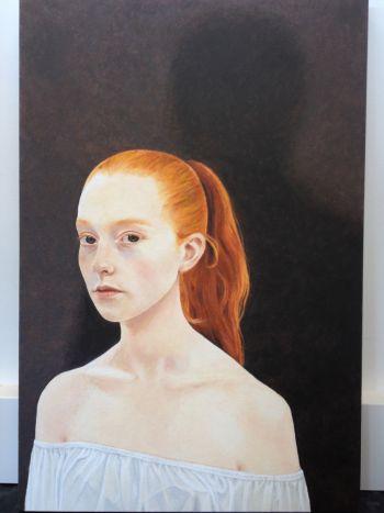 Artist: Simone Woolfitt | Subject: Claudia Lyons | Title: Claudia