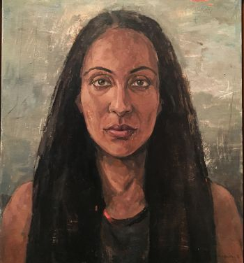 Artist: Effie Mandalos | Subject: Vani Chiavone | Title: Portrait of Vani