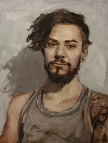 Artist: Marie Mansfield | Subject: Mertim Gökalp | Title: Mertim