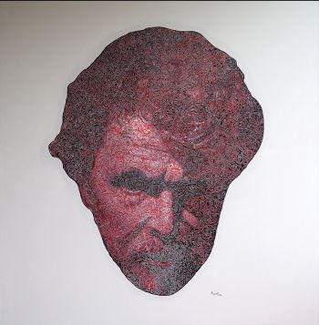Artist: Mugurel Barbulescu | Subject: Mugurel Barbulescu (self portrait) | Title: Mugurel 42