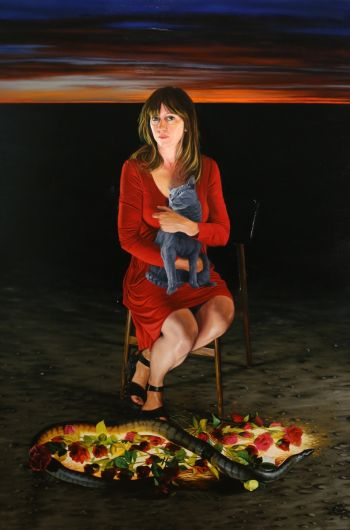 Artist: Joshua Cocking | Subject: Heidi Yardley | Title: Longing belonging - a portrait of Heidi
