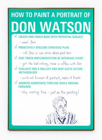 Artist: Michael Lindeman | Subject: Don Watson | Title: How to paint a portrait of Don Watson