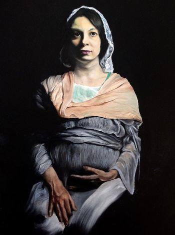 Artist: Natalia Berlizova | Subject: Elena Lyubimova | Title: Elena