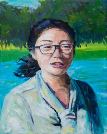 Artist: Kathy Haozhe Wang | Title: My mother | Subject: Yi Nan Ding