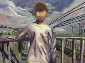 Artist: Stefhanie Abon | Title: Suburban boy | Subject: Andrei Abon