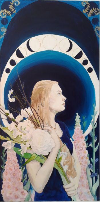 Artist: Bronwyn Davidson | Title: Selene | Subject: Selene