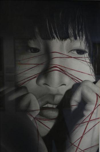 Artist: Lucinda Thai-LeTran | Title: Bound | Subject: Elisabeth Cheong
