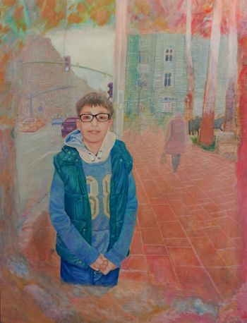 Artist: Sophie Popal-Wornynski | Title: Memories | Subject: Marcel Popal-Wornynski