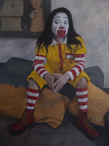 Artist: Desiree Crossing | Title: Johnno McDonno | Subject: Jonathan Siow