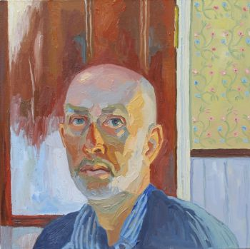 Artist: Mark Dober | Title: Self-portrait | Subject: Self-portrait