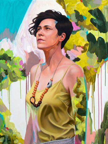 Artist: Kim Leutwyler | Title: Tamara | Subject: Tamara Armstrong