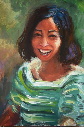 Artist: Sinwai Zheng | Title: Mum | Subject: Wei ting Zhou