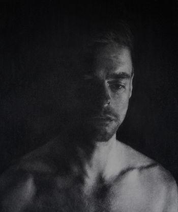 Artist: Antoinette Barbouttis | Title: Liam | Subject: Liam Nunan