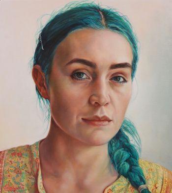Artist: Elizabeth Barden | Title: Mermaids make waves | Subject: Amy Sheppard