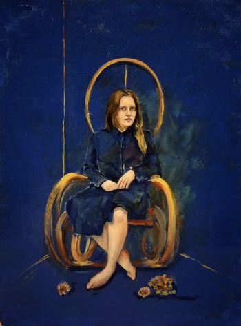 Artist: Natasha Ber | Title: Thirty-two | Subject: Self-portrait