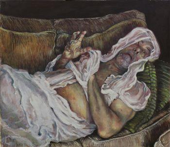 Artist: Jeff Bryant | Title: Lazarus | Subject: Self‐portrait