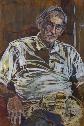 Artist: Daveena Cox | Title: John Lombardo eighty years rich | Subject: John Lombardo