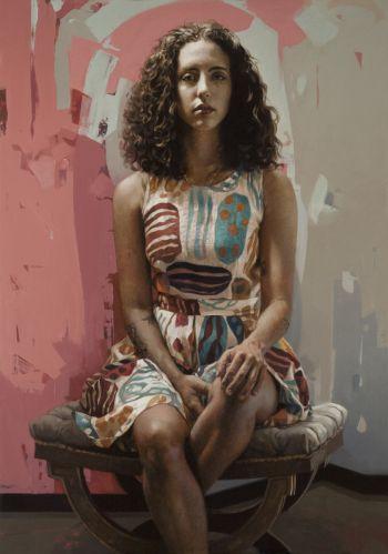 Artist: Benjamin Howe | Title: Anita | Subject: Anita Lester