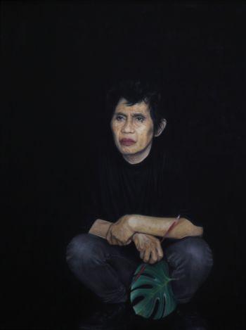 Artist: Stephanie Jowett | Title: Portrait of Jojo | Subject: Josephine Garcia Jowett