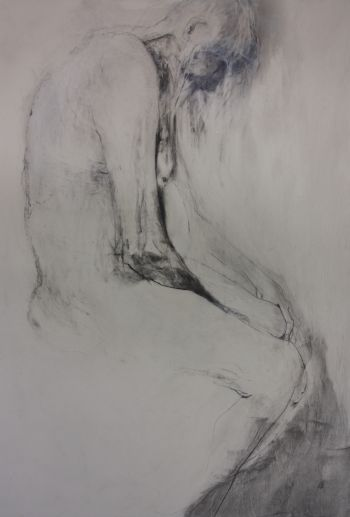 Artist: Camilla Loveridge | Title: Surrender, be still | Subject: Thomas Gerard Darwin