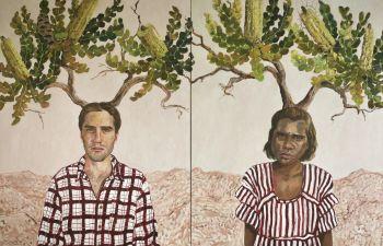 Artist: Lori Pensini | Title: Banksia grandis—love begets love | Subject: Mitchell Pensini