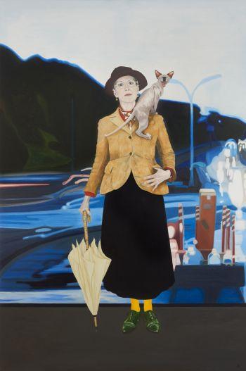 Artist: Lynn Savery | Title: Self‐portrait | Subject: Self‐portrait