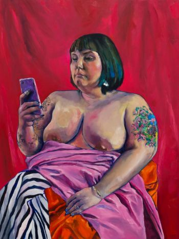 Artist: Wade Taylor | Title: Carla | Subject: Carla Adams