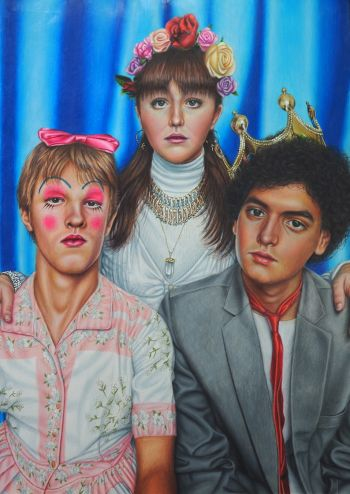 Artist: Bailey Arundell | Title: Generation Z | Subjects:  Bailey Arundell, Michael Skerrat & Alex Henderson