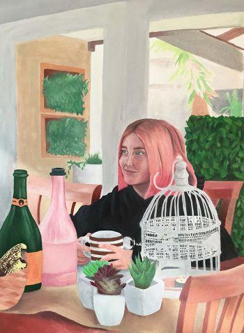Artist: Amelie Mias | Title: Caitlin | Subject: Caitlin Mias