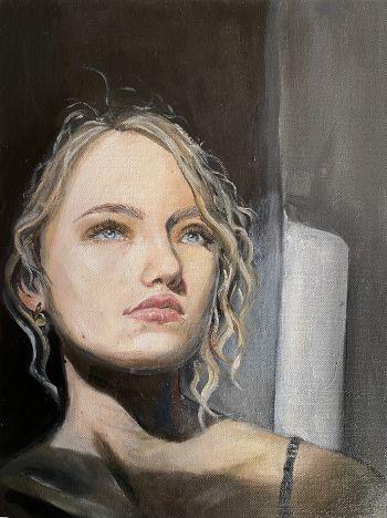 Artist: Mackenzie Stevenson | Title: Bella | Subject: Isabella Kolagow
