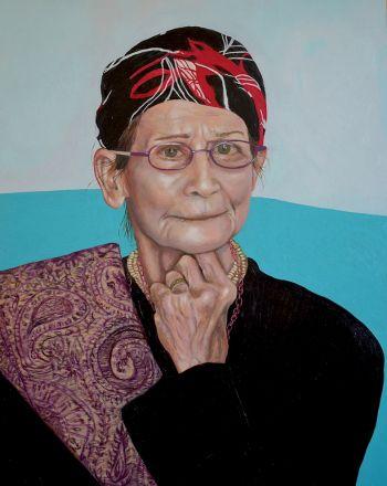 Artist: Indra Geidans | Title: Lucette | Subject: Lucette Aldous