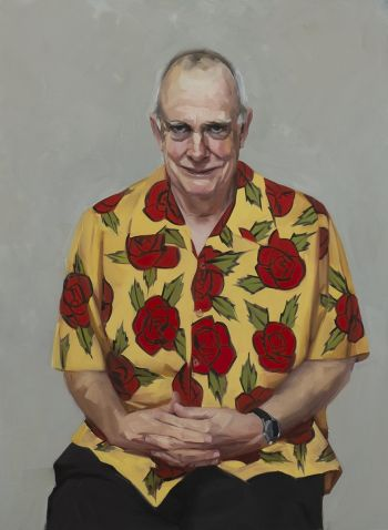Artist: Andrea Huelin | Title: Lure and kill (portrait of Prof Scott Ritchie, Entomologist) | Subject: Prof Scott Ritchie