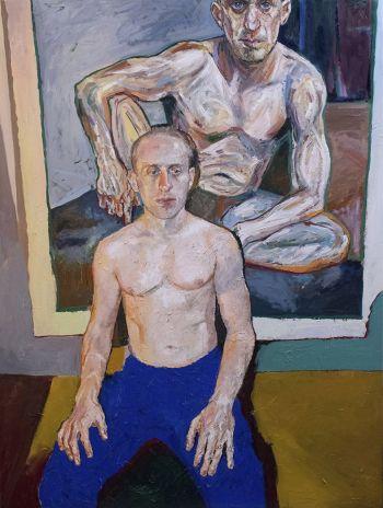 Artist: Loribelle Spirovski | Title: Ecce homo | Subject: Simon Tedeschi