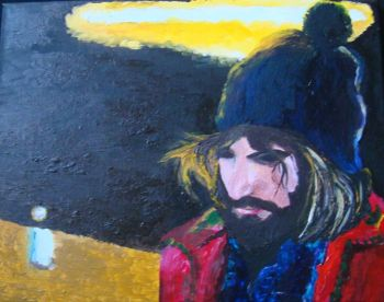 Title: No-nonsense, Subject: Angus Stone, Artist: Natasha Burgess