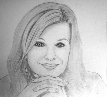 Title: A Truly Inspiring Woman, Subject: Olivia Newton-John, Artist: Lily Robinson