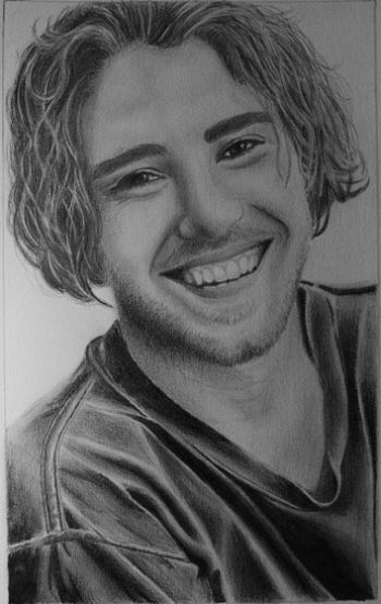 Title: Matt Corby, Subject: Matt Corby, Artist: Deni Robinson, Year 10