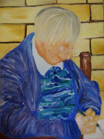 Artist: Jessika Glasgow, Year: 10, Title: The Creative Life, Subject: Nanna Eaton
