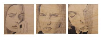 Artist: Chloe Leggett, Year: 10, Title: Life, Subject: Self Portrait