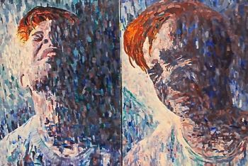 Artist: Monique Chiari, Year: 12, Title: Ollie, Subject: Oliver Chiari